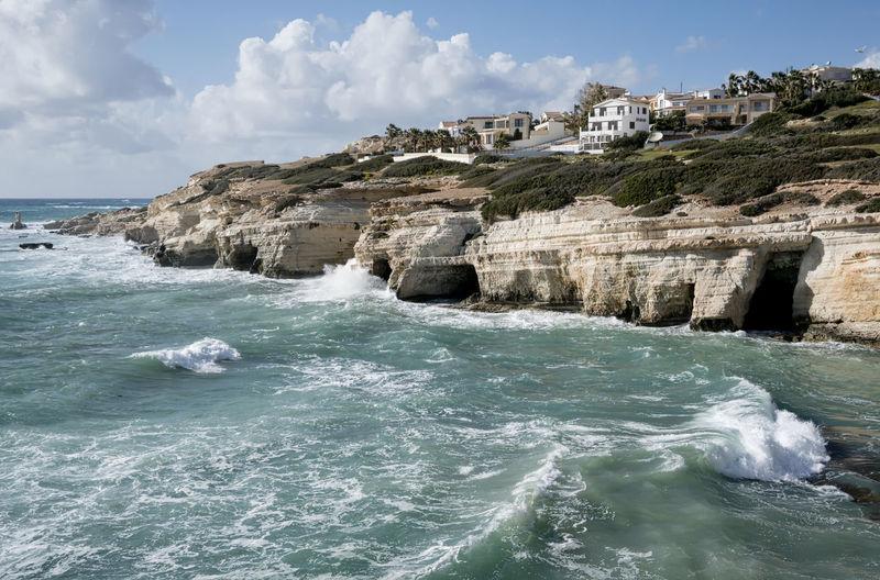 Sea Caves Coast, Sea, Sea Caves, Villas, Beach Villa, Clifftop Villas, Paphos, Cyprus