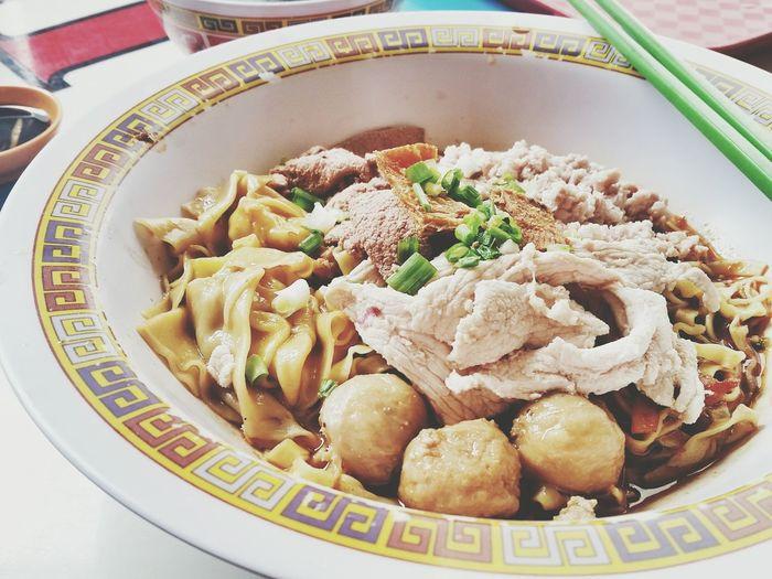 Bak Chor Mee @ hill street Food Foodphotography Foodporn The Five Senses