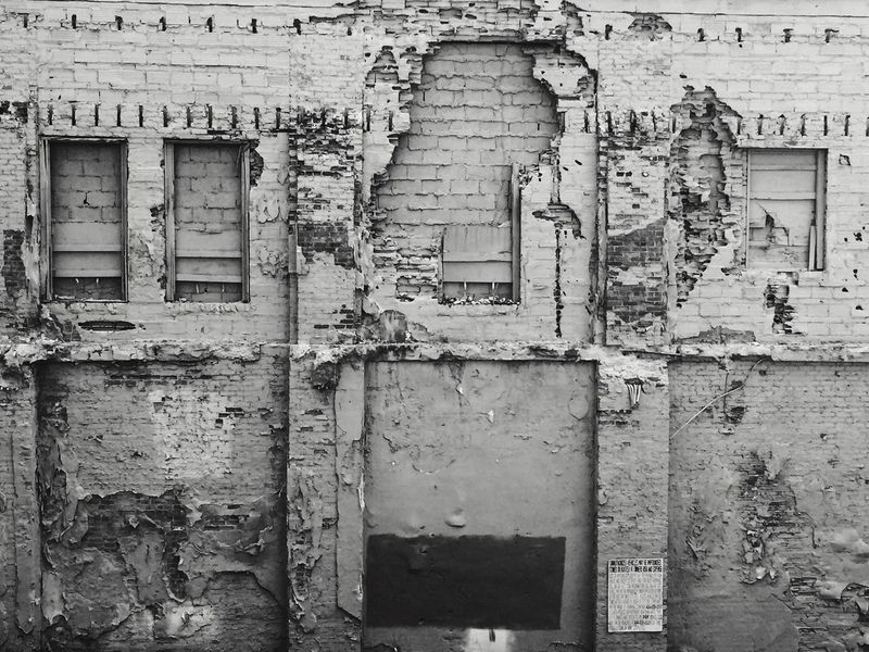 Building Exterior Old Deterioration Exterior Forgotten Places  NeverSettle Broken Windows Decrepit Lifeinblackandwhite Weathered Closed No People