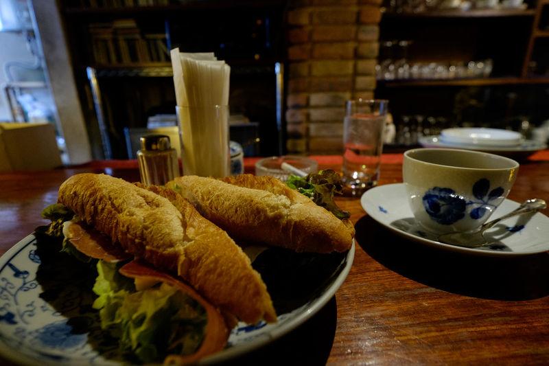 螢明舎 Bread Cafe Coffee Coffee Shop Food Food And Drink Fujifilm Fujifilm X-E2 Fujifilm_xseries Jambon Fromage Meal Sandwiches Xf10-24mm ジャンボンフロマージュ ジャンボン・フロマージュ 喫茶店 螢明舎