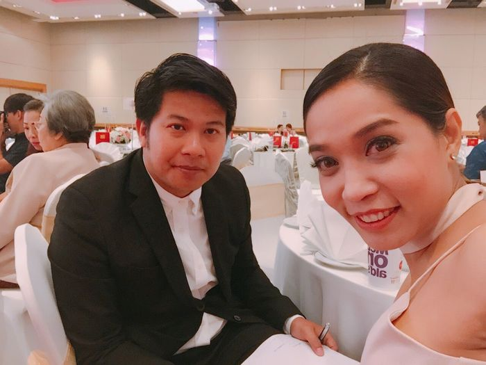 Looking At Camera Wedding Party Masterceremony Portrait Indoors  Women Men Smiling Adult People Young Adult Adults Only