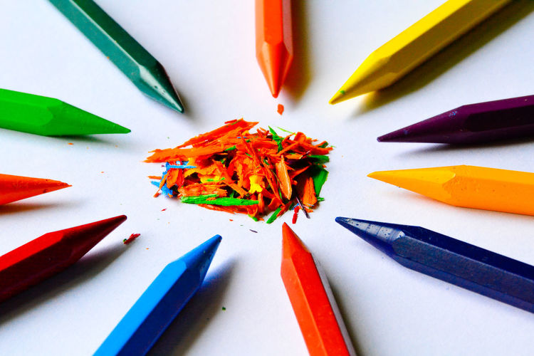 Crayons Pencil Colored Pencil Education Multi Colored No People Crayon Close-up Indoors  Pencil Shavings Nikon Day EyeEmNewHere Rethink Things Second Acts Be. Ready.