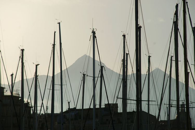 🌄⛵ Sea Water Boats Mountains Horizon Sun Lights Nature Sunlight Sky Buildings Silhouette Lines City Sicily Italy Nautical Vessel Sailboat Outdoors Transportation Architecture Building Exterior Yacht Harbor