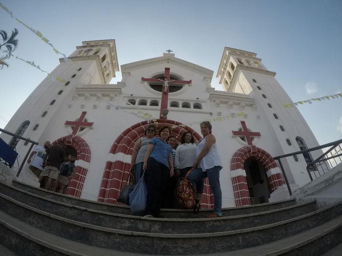 Catedral de Juayua, donde en su interior podremos apreciar al Cristo Negro. Ruta de Las Flores, El Salvador. Imagen Drone DJI Mavic Pro Catedrale Concepción De Ataco, El El Salvador Tours Hostales Hoteles El Ruta De Las Flores Tourism Wide Angle