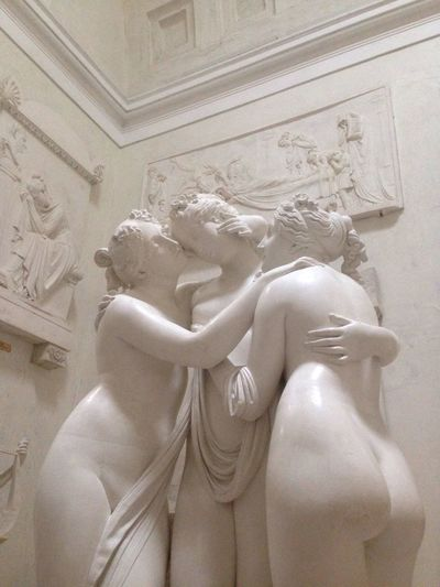 The Three Graces by Canova// Neoclassical Sculpture Italians Do It Better Art Is Everywhere