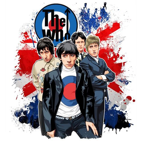 #THEWHO Vector art just done ;) available for phone cases canvas clothing now! MSG me X The Who