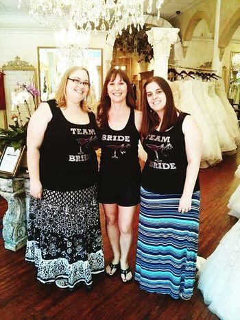 Teambride Pickingoutthedress Shesaidyes SayYesToTheDress Gorgeousboutique GreatMemories ❤ Funwithfamily Brideandhergirls