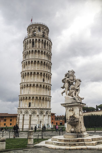 Architecture Building Exterior Built Structure Culture Famous Place History International Landmark Italy Leaning Leaning Tower Of Pisa Pisa Pisa Tower Tourism Tower Travel Travel Destinations
