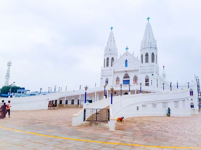 The famous veleankani ( mother marry ) church in tamil nadu state