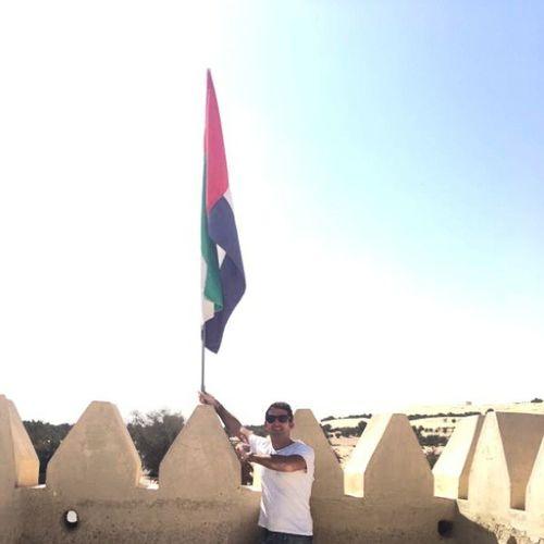 UAE Abudhabi Abudhabiland Dubailand Dubai Gulf Liwa Liwaoasis Castle Flag Travel Trip Safari Arab Arabic ILoveUAE