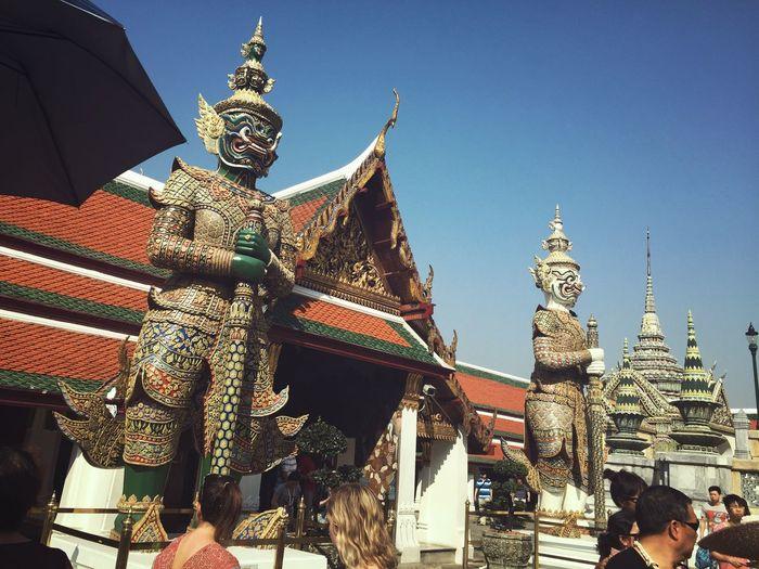 Thailand just being a tourist Bangkok