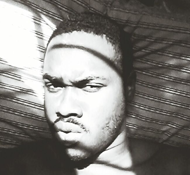 Black And White Selfie Like This Chilling