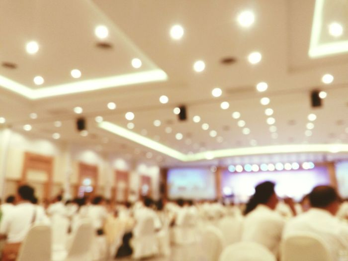 Blury Metting partty ,indoor, Crowd Lighting Equipment Performance Arts Culture And Entertainment Audience eventSpectator People Indoors  Illuminated Performing Arts Event texture,blur style