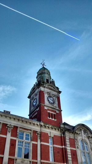 Swansea Blue Sky