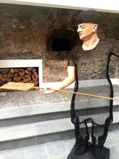 Making Bread Traditonal Statue