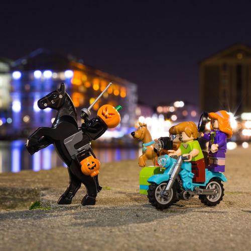 75019 Happy Halloween Halloween Citrouille LEGO Legophotography Sleepy Hollow Scoubydoo Night Automne Paris Lego Scoubydoo