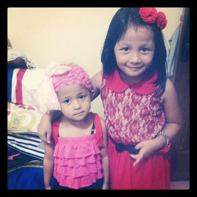 My nephew and his sister, aren't them so adorable? ;;) Instasister Instadaily Muchlove