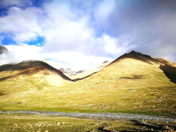 Cloud - Sky Landscape Nature Outdoors No People Sky Scenics Mountain Day Beauty In Nature Grass Tibet Tibet Travel Mount Kailash