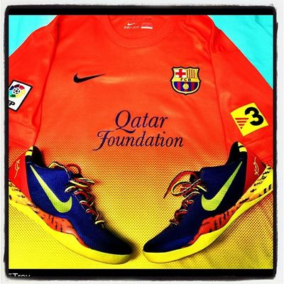 UFFF ESTA ESTA DURISIMA❗ Barcelona Qatarfoundation Kobe Kobe8 kobetaipan kobebarcelona barcelonaqatarfoundation messi
