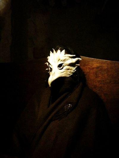 Roleplay Mask Bird Bird Of Prey Black Background