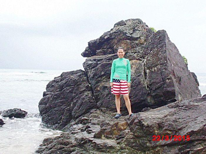 unang tampisaw sa tag-araw At Aniao Islet Baler Aurora