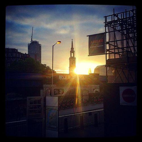 5.30 A.M Sunrise. Waterloo Station Steps. Sunrise Travel Waterloo Waterloosunrise London Londontranspot