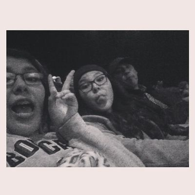 Last night at the movies with the sister and dad?❤ Movienight Prisoners Intensemovie Sis dad loveem