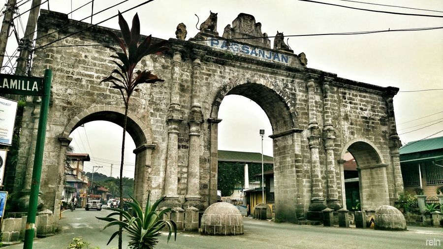 Battle Of The Cities Spanish Colonial Period History The Arch Welcome Come Home Philippine Tourist Destination From Past To Future