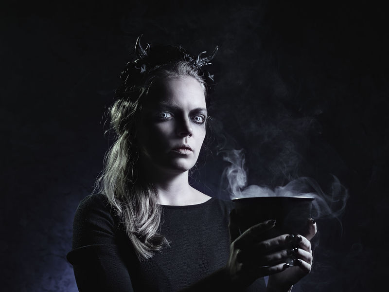 Only Women Adult One Woman Only One Person Adults Only Portrait Smoking - Activity Headshot Drinking Smoke - Physical Structure People Black Background One Young Woman Only Beautiful Woman Studio Shot Young Adult Drink Black Color Elégance Beauty