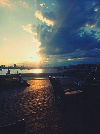 Sunset 💕 Boston River Hyattregency BostonHarbor