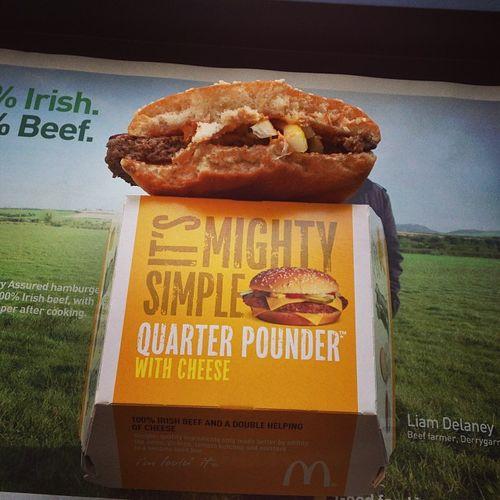 Quarter Pounder Country Testdrive: Ireland #qpct #tbex Tbex Quarterpounder Travel Dublin Ireland Mcdonalds Foodporn Reisen Fastfood Testdrive Travelblog Travelblogger Qpct Lovedublin