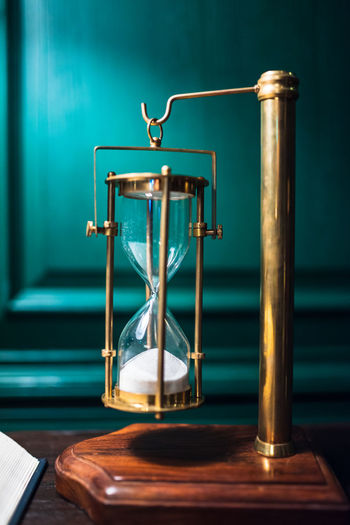 Everything has a time out. Accuracy Blue Focus On Foreground Healthcare And Medicine Hourglass Indoors  Instrument Of Measurement Land Metal Motion Nature No People Sand Scale  Still Life Table Time Weight Scale Wood - Material EyeEmNewHere My Best Photo