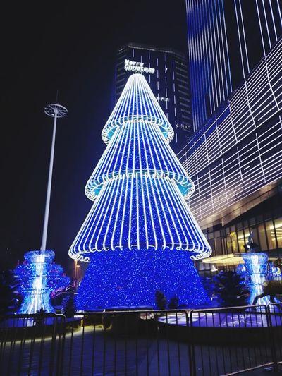 Christmas Lights Christmas Tree