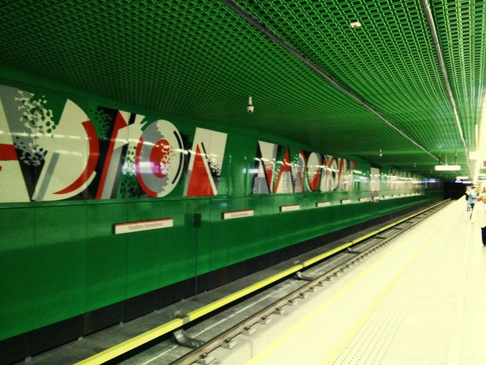 Public Transportation Warsaw Subway