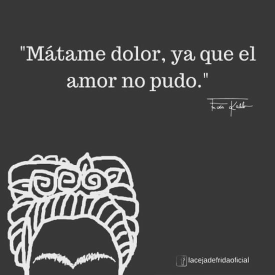 Fridakahlo Español Photo Love ♥ 💔💔 Destruction