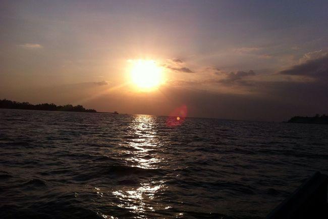 Koh Siboya Enjoying The Sun Enjoying Life Krabi Thailand