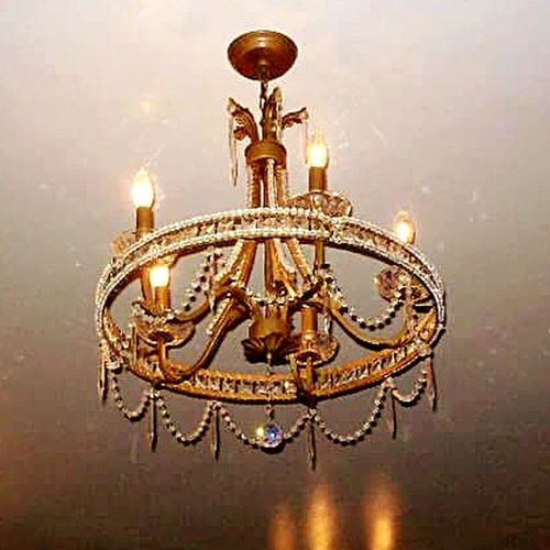 Chandelier Prettychandelier Lighting LightUpTheNight Beautifuldecoration Shiny Things