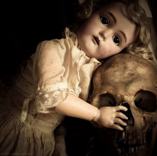 The Porcelain Girl And The Dead Guy EyeEmNewHere Human Body Part Doll Porcelain Doll Portrait People Cute Looking At Camera Black Background Antique Antique Doll Vintage Vintage Style Vintage Doll Skull Human Bones Medical Specimen Death Sadness Macabre Macabre Photo Real Human Bones Creepy Doll Creepy Art First Eyeem Photo