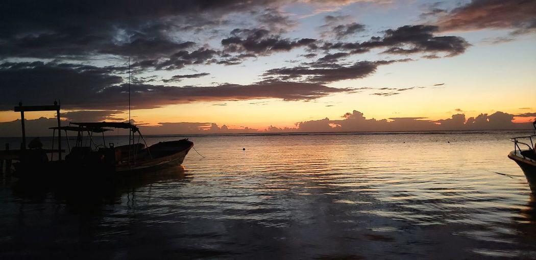 The Great Outdoors - 2019 EyeEm Awards Water Nautical Vessel Sea Wave Sunset Beach Dawn Beauty Silhouette Summer The Minimalist - 2019 EyeEm Awards