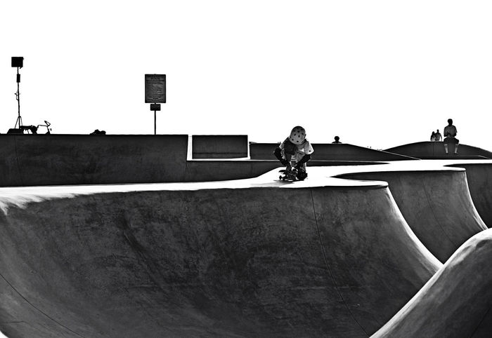 Architecture Art Blackandwhite Blackandwhite Photography California Concrete Contrast Lifestyle Photography Lifestyles Lines Lines And Shapes Rest Skateboard Skateboarder Skateboarding Skatescapes Skating Sun Sunset USA Venice Beach