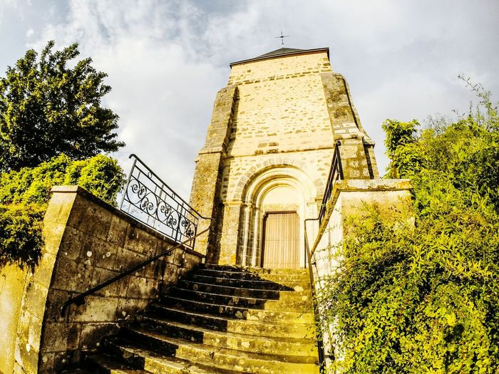 No Person Built Structure Building Architecture Architecture_collection France Church Stairs In Nature Stairs And Steps Stairs And Building