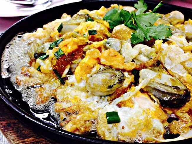 Oyster Thailand Thai Food Eating Food
