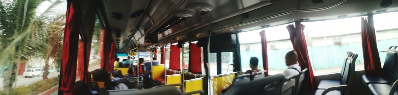 Na-amaze ako sa Bus. Kakaibabe. Sana lahat ng bus ganito. Hehehe ✌️ Perksofbeingcommuter