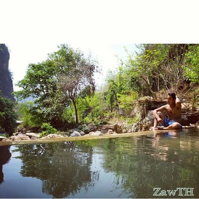 Infinity pool. Deedoke waterfall. Infinitypool Deedokewaterfall Waterfall Bluelagoon Rockpool Crystalclearwater Reflection Mandalay Myanmar Burma Igers Igersmandalay Igersmyanmar Vscomyanmar Burmeseigers Goldenland Exploremyanmar Zawth GalaxyGrand2 Summer