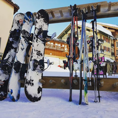 ski rest Skiing Snowboarding Alpine Cold Temperature Snow Sky Day Winter Sport Outdoors