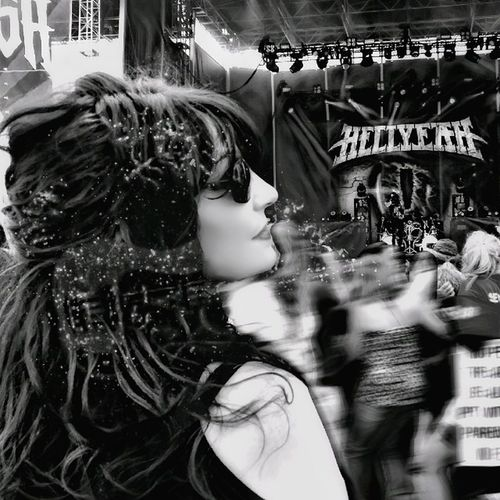 Blurred Motion Crowd Rockusa Rock'n'Roll Concertlivemusic Music Festival Rock Concert Rock N Roll Rock Music Rockusa2017 Concerts & Events Bnw_life Bnw_of_our_world Concert Photography b Black And White Photography Black Hair Dark Hair