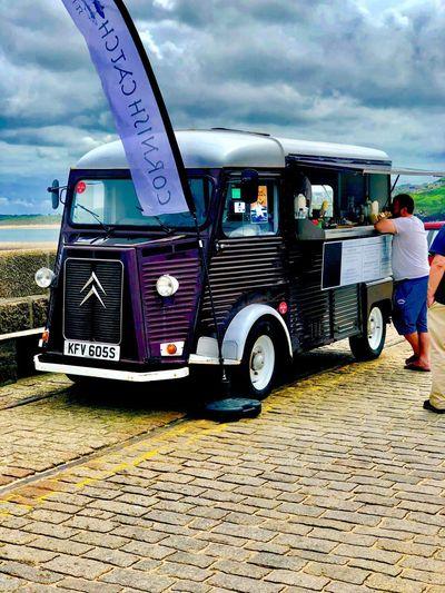 Cornish Delights EyeEmNewHere Citreon DS Land Vehicle Transportation Cloud - Sky Sky Day Motor Vehicle Incidental People Parking EyeEmNewHere EyeEmNewHere