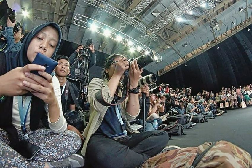 Indonesia Fashion Week 2015. Photographer Videographer Journalist Fashionshow Jakarta INDONESIA