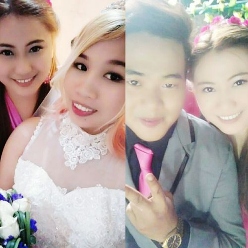 Mr.&Mrs. Dador 💝 Wedding Dress Bridesmaid Bridegroom congratulations. Finally