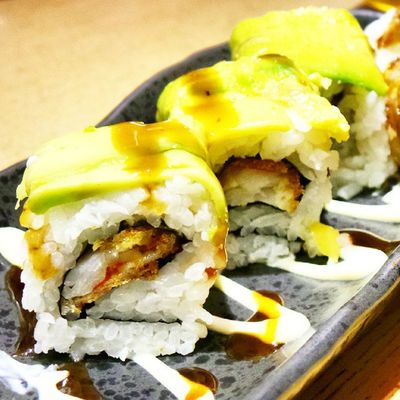 Dragon Roll Jajan Makanan Jepang Japanese  Food Japanese Food Food Photography